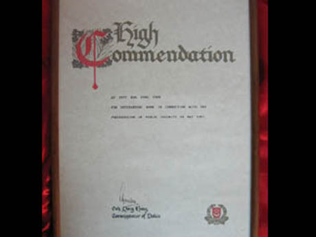 High Commendation 87
